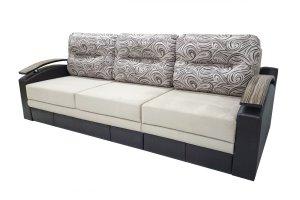 Диван Каскад 5 с оттоманкой - Мебельная фабрика «Линия Стиля»