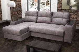 Диван Кит 18 с оттоманкой - Мебельная фабрика «Лео»