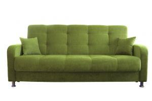 Диван книжка Каприз 4 зеленый - Мебельная фабрика «Интерьерхолл», г. Липецк