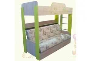 Диван-книжка с кроватью Форвард - Мебельная фабрика «AvtoBaby»