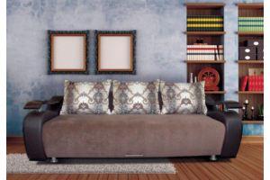 Диван коричневый Софа 4 - Мебельная фабрика «Дон-Мебель»