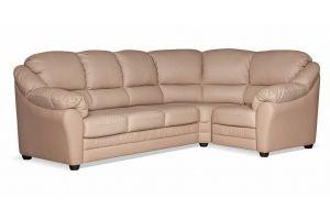 Диван кожаный Беата Капучино - Мебельная фабрика «Цвет диванов»