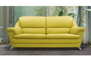 Диван кожаный Хеппи - Мебельная фабрика «SID Диваны»