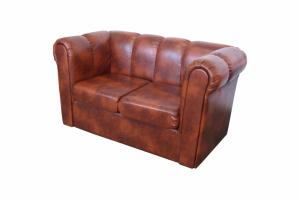 диван кожаный Победа - Мебельная фабрика «Европейский стиль»