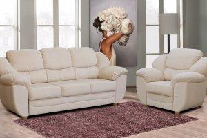 Диван с креслом Венеция - Мебельная фабрика «Любимый Стиль»