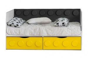 Диван-кровать Лего с 2-мя ящиками Лего - Мебельная фабрика «Мандарин»