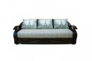Диван-кровать Оксфорд 2 (Лепесток) - Мебельная фабрика «Мельбурн»