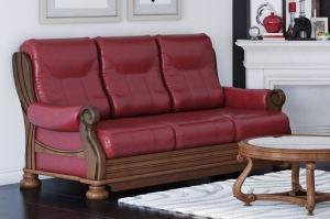 Диван-кровать Палермо в коже - Мебельная фабрика «Авангард»