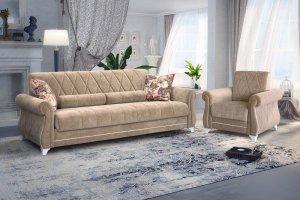 Диван-кровать Роуз - Мебельная фабрика «Ник (Нижегородмебель)», г. Нижний Новгород