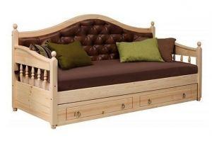 Диван-кровать с каретной стяжкой - Мебельная фабрика «Святогор Мебель»