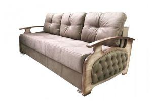 Диван-кровать с каретной стяжкой - Мебельная фабрика «Амарас»