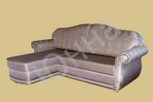 Диван-кровать с оттоманкой Юнна-Классик  - Мебельная фабрика «ЮННА»