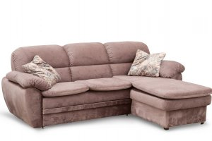Диван-кровать трехместный с оттоманкой  Бремен - Мебельная фабрика «Яна»