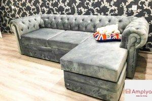 Диван-кровать угловой Честер - Мебельная фабрика «Амплуа»