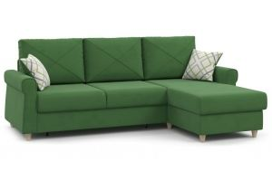 Диван-кровать угловой Иветта - Мебельная фабрика «Нижегородмебель и К (НиК)»