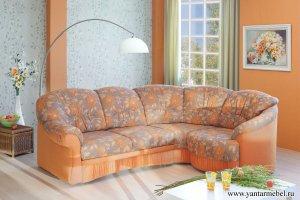 диван-кровать угловой Женева М 2+1  - Мебельная фабрика «Янтарь»