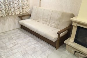 Диван-кроват Венеция п/л-массив берёзыь - Мебельная фабрика «Мебель-54»
