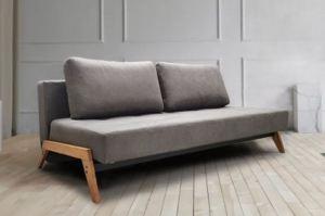 Диван Кватро черный муар/wood - Мебельная фабрика «Bo-Box»