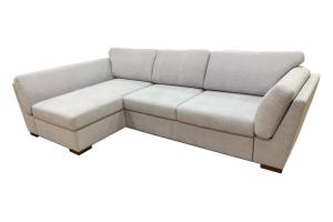 Диван Лагуна с оттоманкой светлый - Мебельная фабрика «Лори»