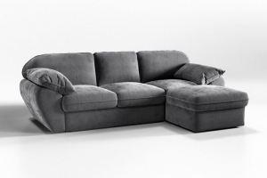 Диван Лаунж Стандарт с оттоманкой - Мебельная фабрика «CLOUD»