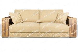 Диван Лаура Б с деревянными подлокотниками - Мебельная фабрика «СОКРУЗ»