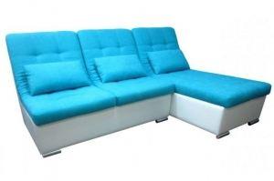 Диван лежак с оттоманкой Виктория - Мебельная фабрика «Нико»