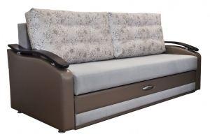 Диван прямой Лидер с мягкими подушками - Мебельная фабрика «МИКС»