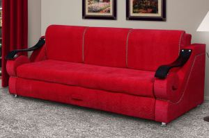 Диван Лидер 23 красный - Мебельная фабрика «Домосед»