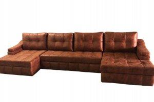 Диван Лидер Б с двумя оттоманками - Мебельная фабрика «Идель»