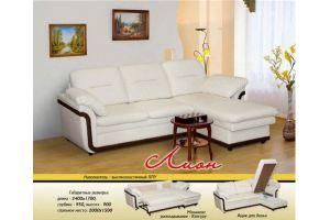 Диван Лион с оттоманкой - Мебельная фабрика «Новый Стиль»