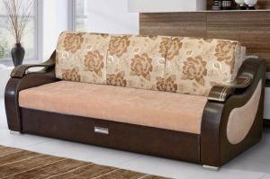 Диван Люкс прямой - Мебельная фабрика «Элегантный Стиль»