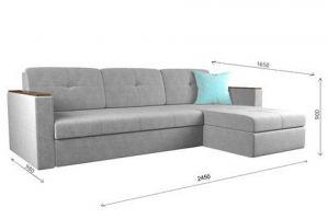 Диван Мадрид минимал LUX cvadro - Мебельная фабрика «ГОСТМебель»
