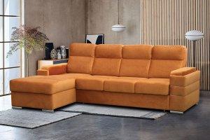Диван Мадрид с оттоманкой - Мебельная фабрика «Идиллия»