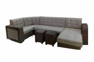 Диван Маркиз П-образный - Мебельная фабрика «Мечта»