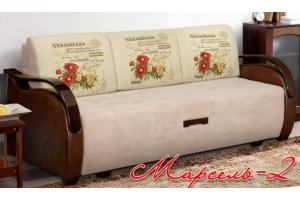 Диван Марсель-2 прямой - Мебельная фабрика «Элегантный Стиль»