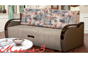 Диван Марсель-3 прямой - Мебельная фабрика «Элегантный Стиль»