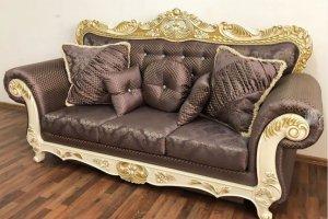 Диван Марсель натуральные материалы - Мебельная фабрика «Лео Люкс»