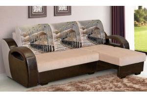 Диван Меган угловой - Мебельная фабрика «Элегантный Стиль»