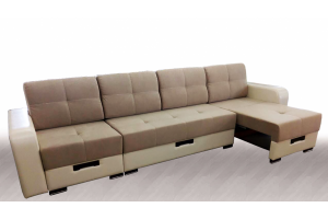 Диван Модуль Камила 2 с выдвижными оттоманками - Мебельная фабрика «Веста»