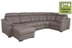 Диван модульный Бристоль с оттоманкой - Мебельная фабрика «SID Диваны»