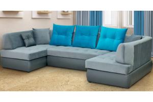 Диван Монро п-образный - Мебельная фабрика «Уютный Дом»