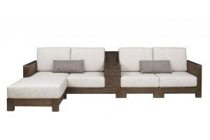 ДИВАН на деревянном основании 3076 - Импортёр мебели «Sunflower (Китай)»