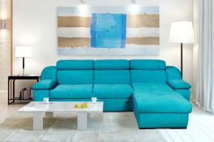 Диван Неаполь с оттоманкой - Мебельная фабрика «Mebelit»