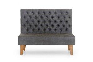 Диван с каретной стяжкой Олфорд - Мебельная фабрика «Стильная Мебель»