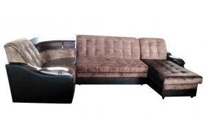 Диван п-образный 14 БИП - Мебельная фабрика «Элегант»