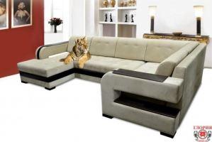 Диван п-образный Глория 18 - Мебельная фабрика «Глория»