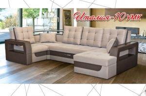 Диван п-образный Италия 10 УМК - Мебельная фабрика «Атрик»
