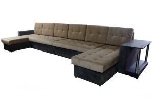 Диван п-образный Лондон офисный XL - Мебельная фабрика «Диванов18»