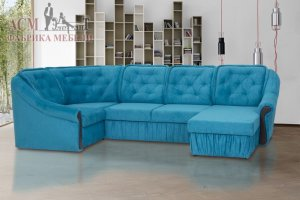 Диван п-образный Мадрид ПДУ - Мебельная фабрика «АСМ Элегант»