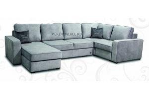 Диван п-образный малый Лайт - Мебельная фабрика «Верди»